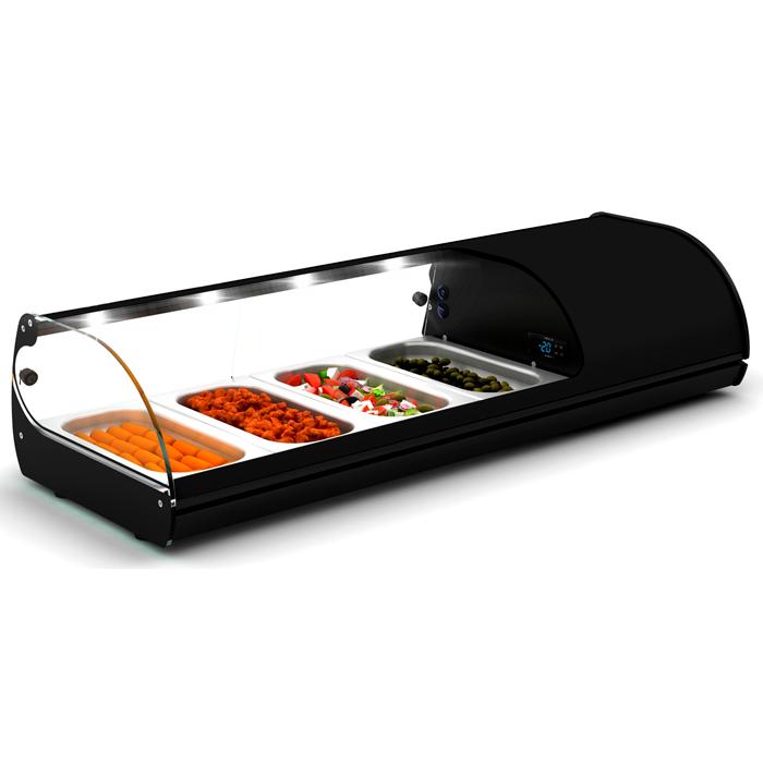 vitrine à sushis